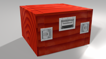 3d concept of the box I wish to build.